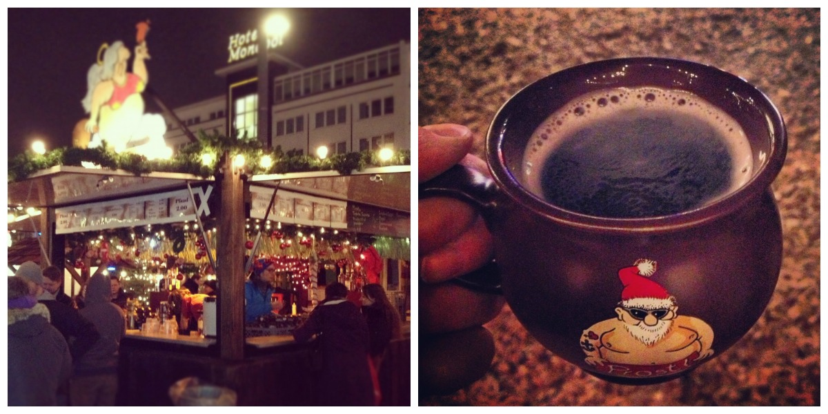 Gluwein at the Christmas Market