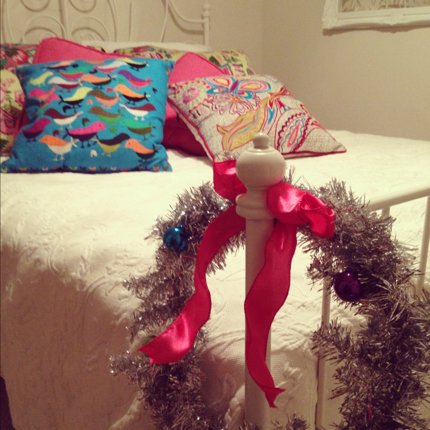 Bedpost Wreath