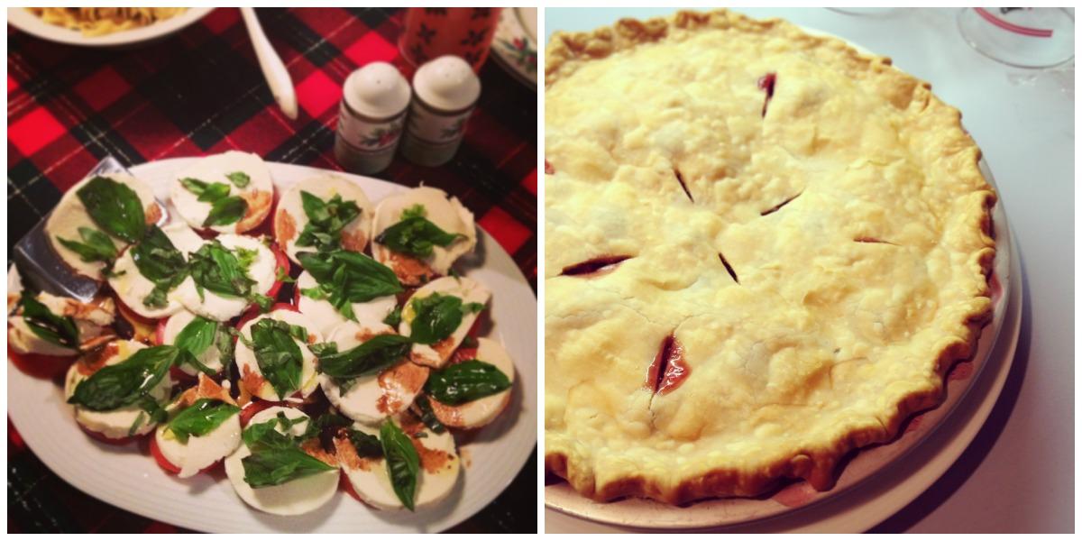 Caprese and Pie