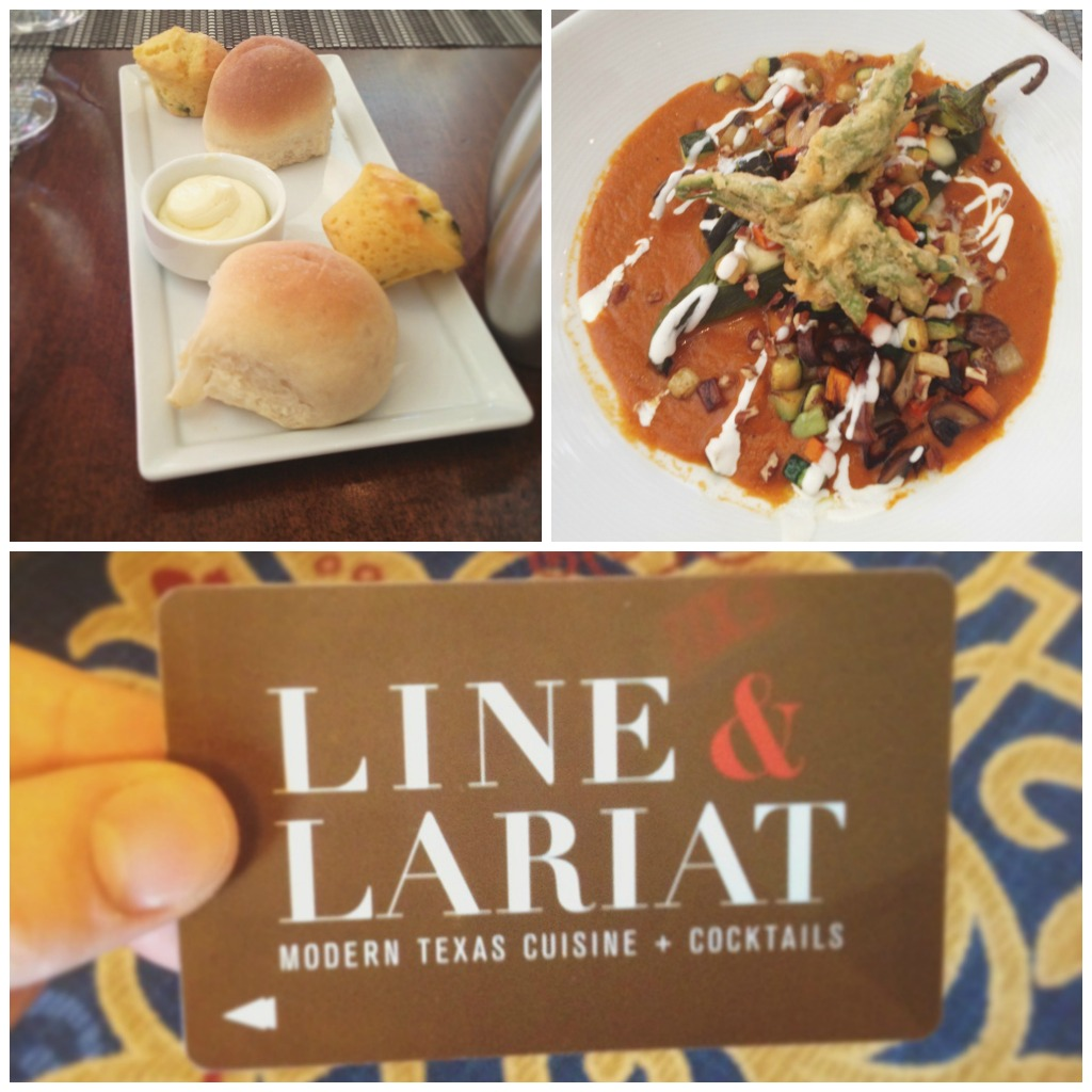 Lunch at Line & Lariat