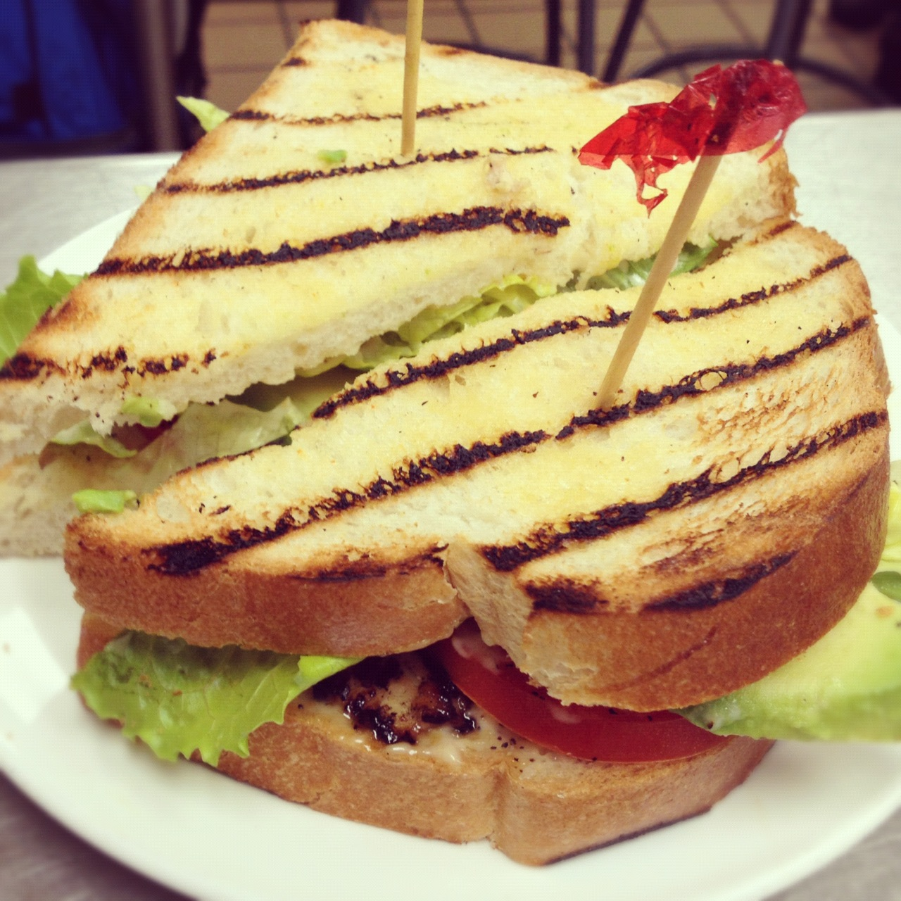 Grilled Chicken Aioli Sandwich
