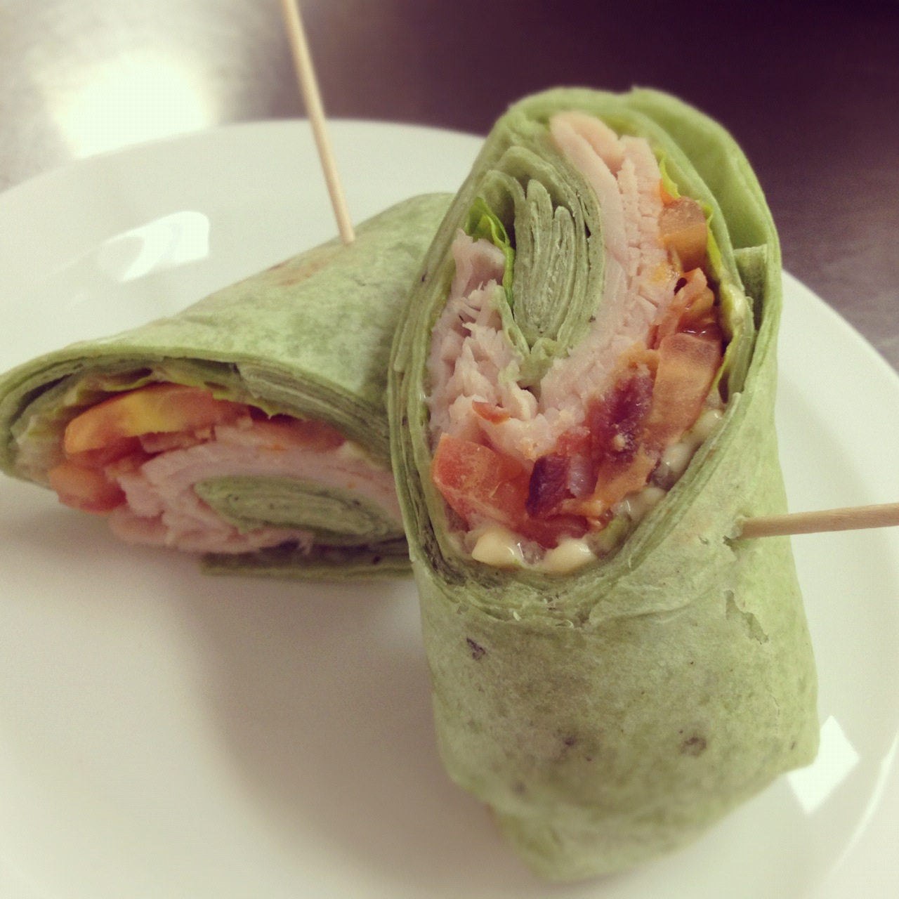 Turkey BLT Wrap