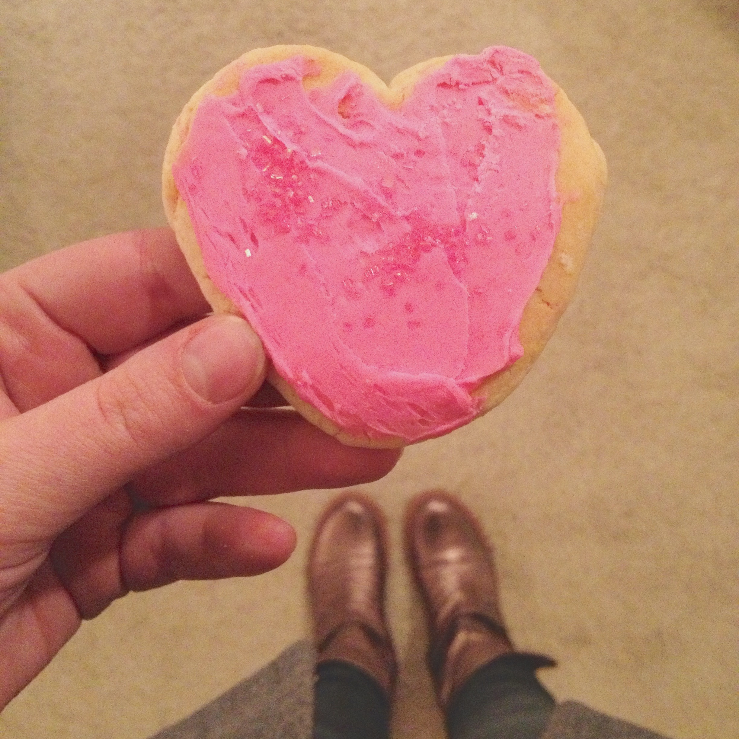 Heart Cookies from my Valentine