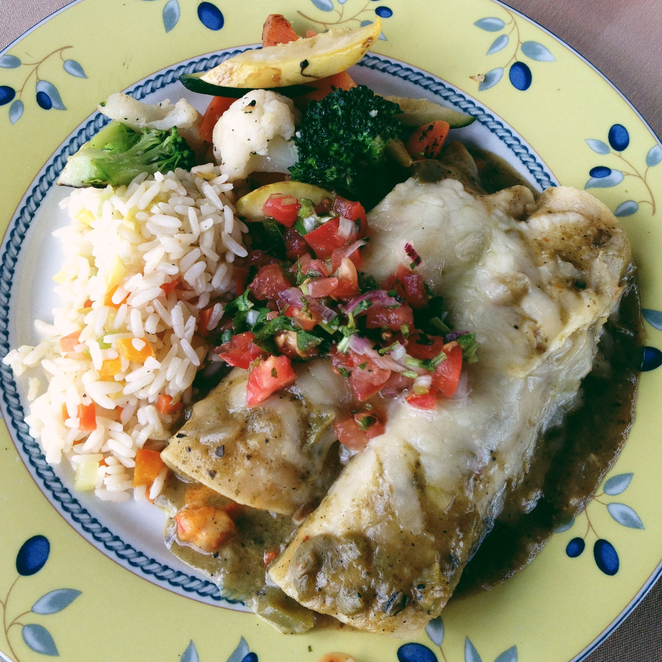 Shrimp/Crawfish Enchiladas