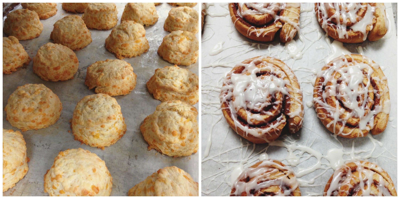 Biscuits + Cinnamon Rolls