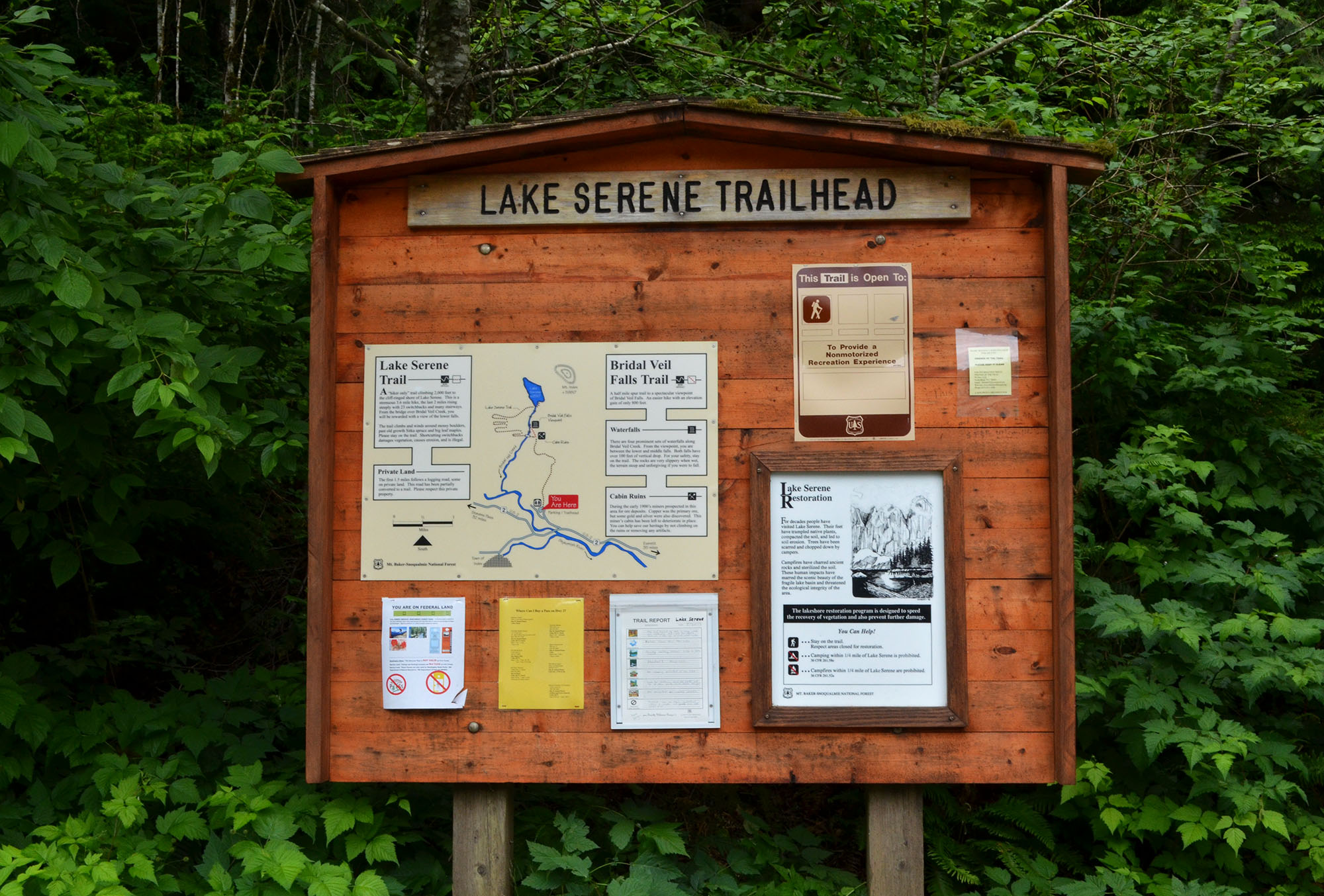 Lake Serene Trailhead