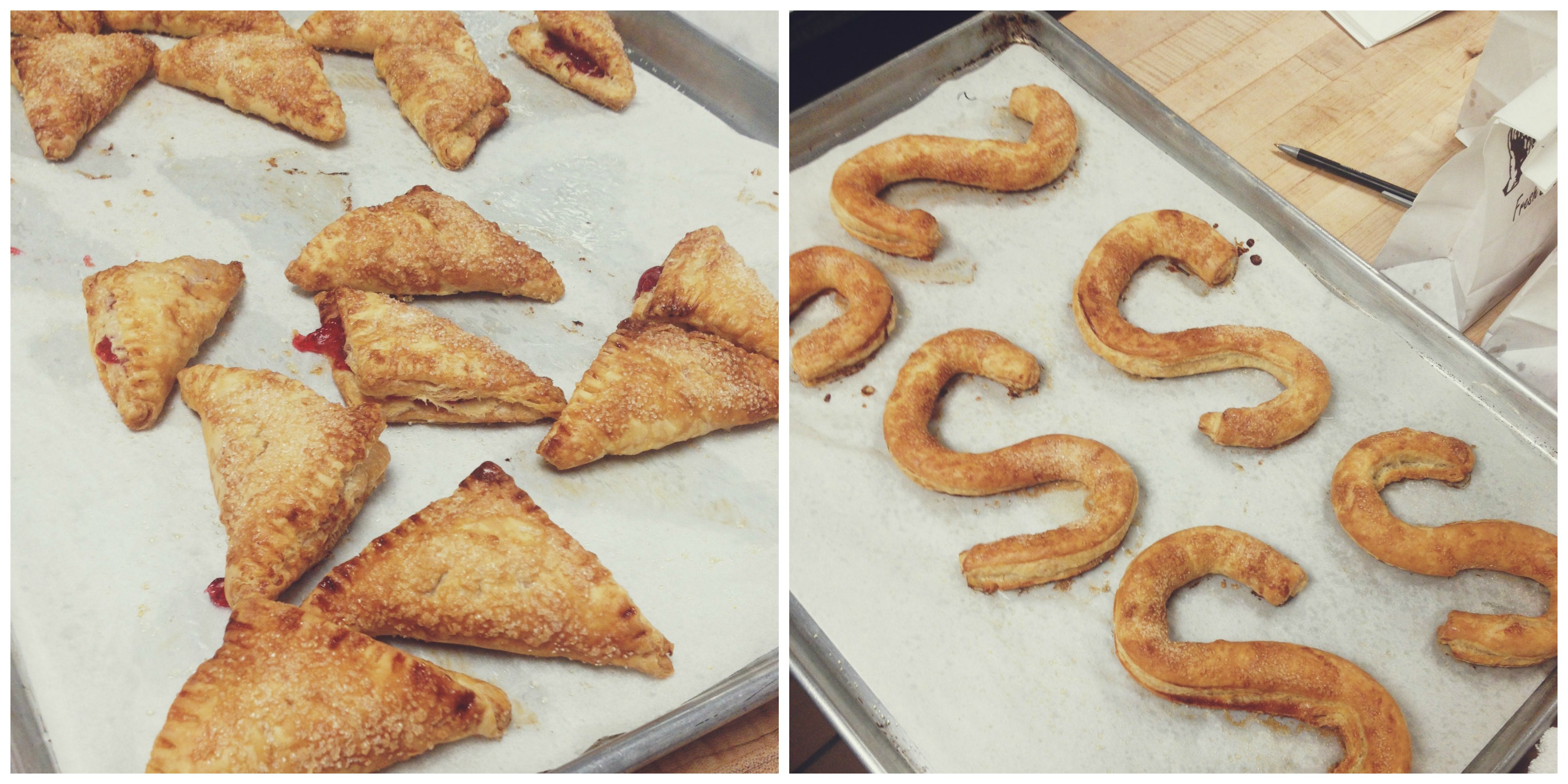 Strawberry Turnovers and Dutch Letters