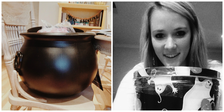 Popcorn & a Cauldron