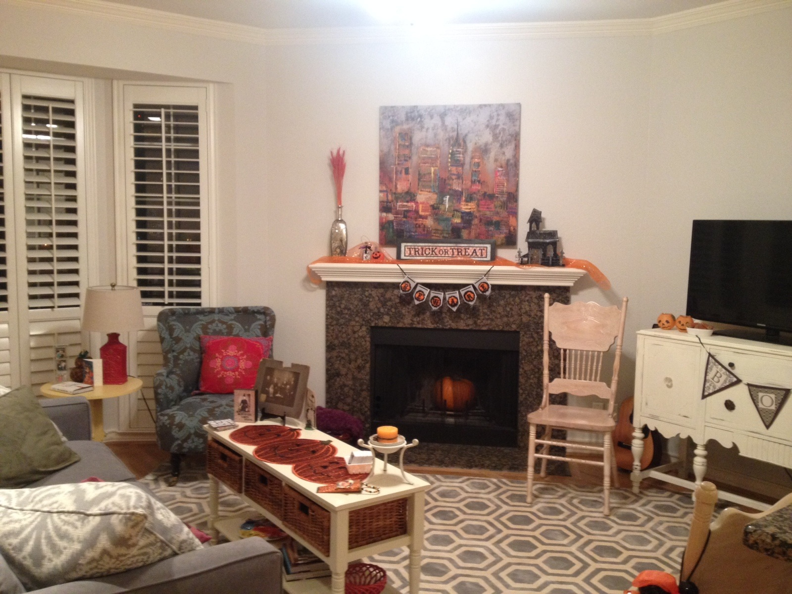 Decorating Ideas > Halloween Party 2013 ~ 053555_Living Room Halloween Party