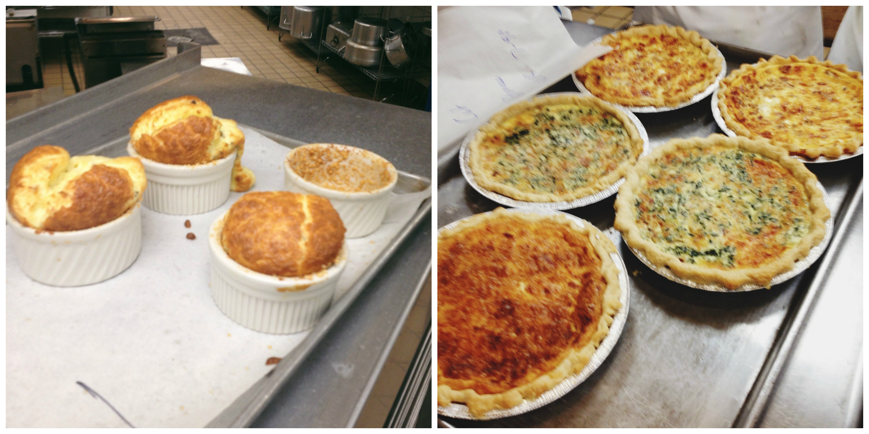 Souffles + Quiches