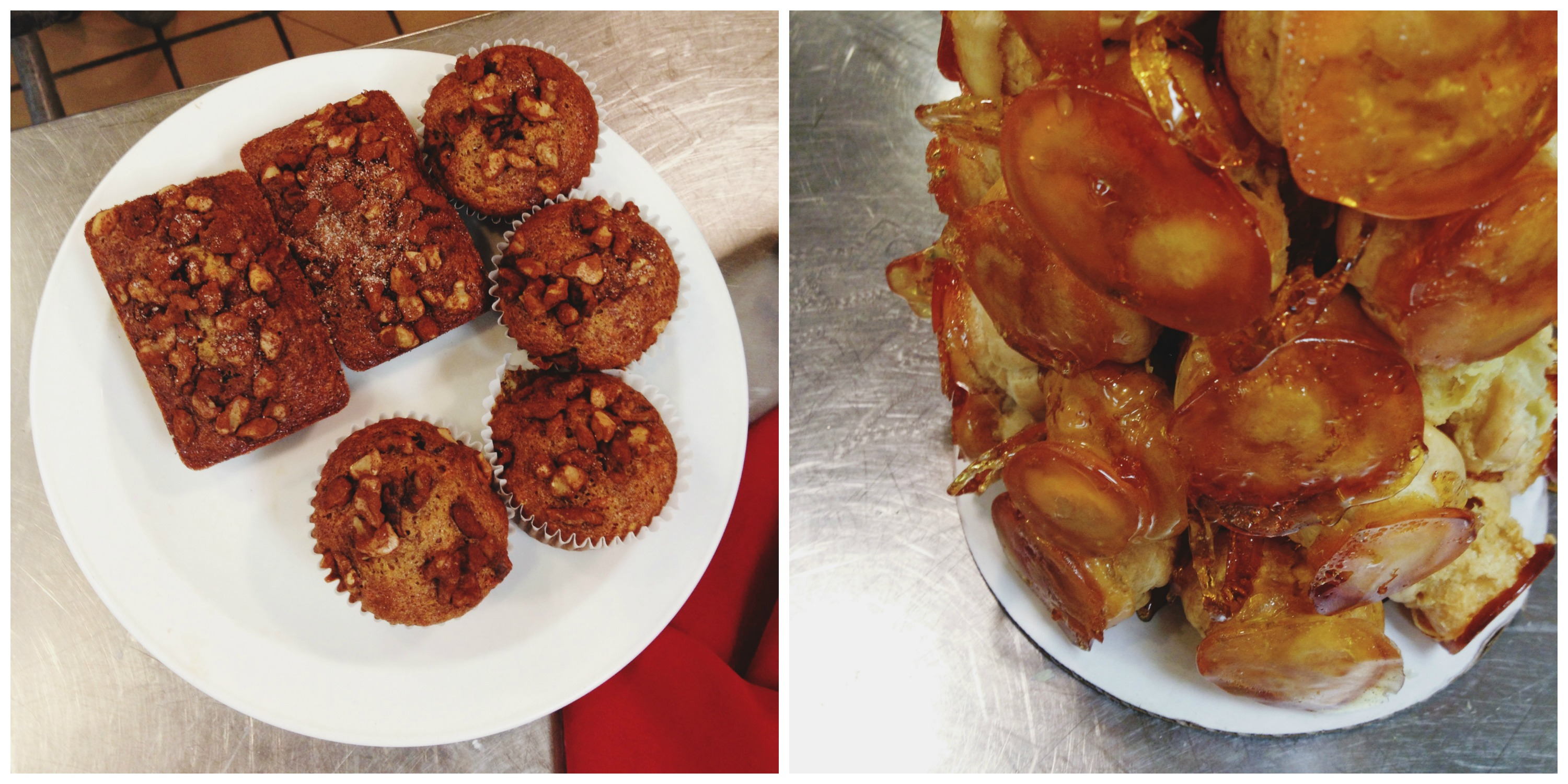Croquembouche + Muffins and Quick Breads