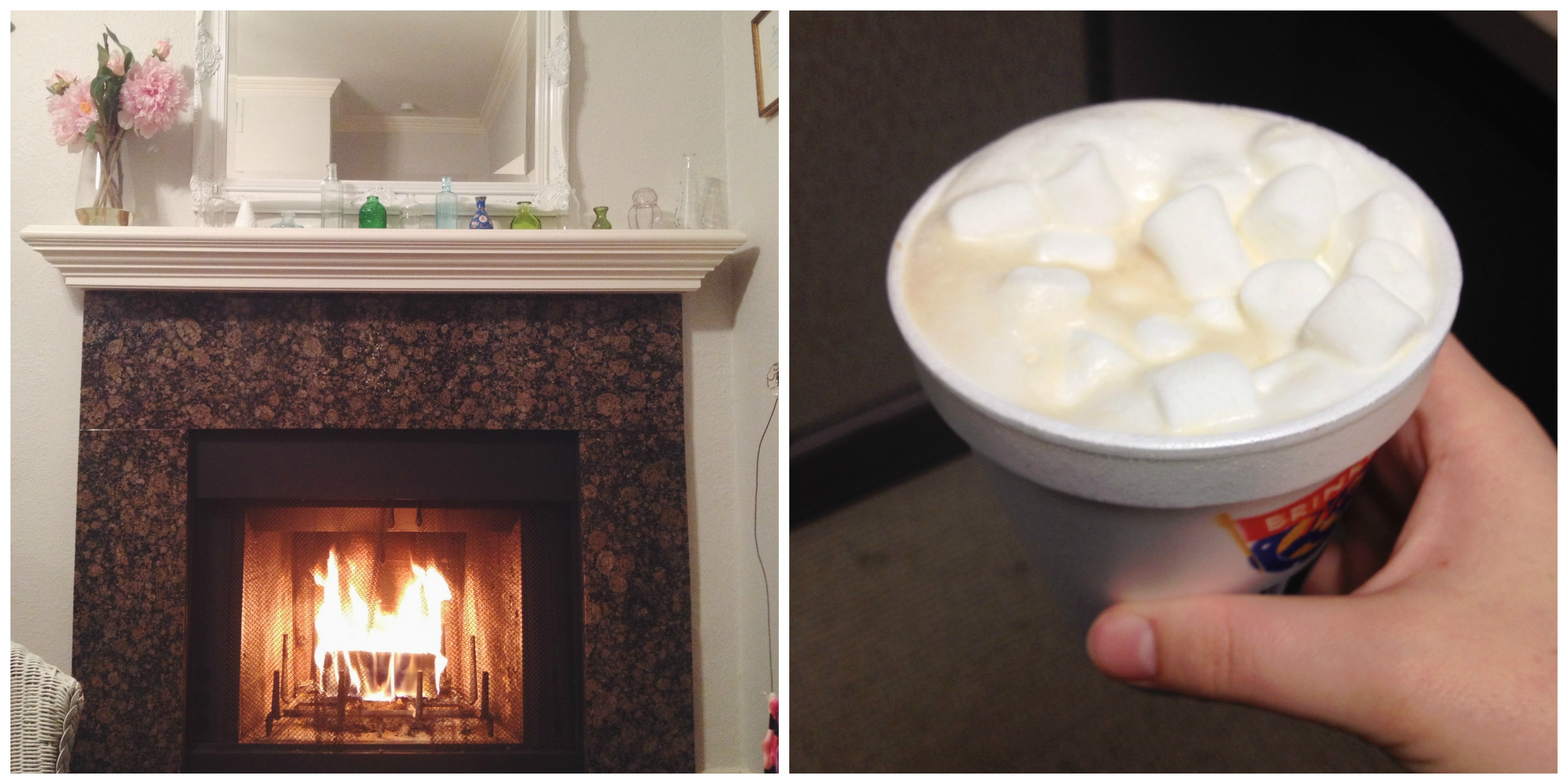 Fireplace & Hot Cocoa