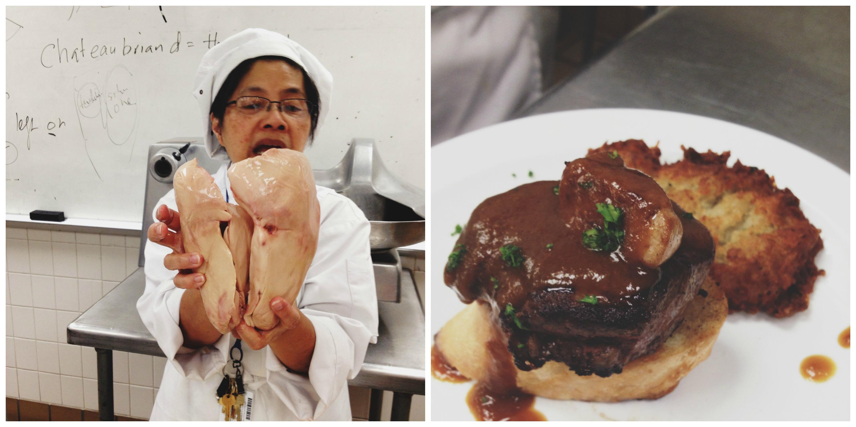 Tournedos Rossini with pate de foie gras