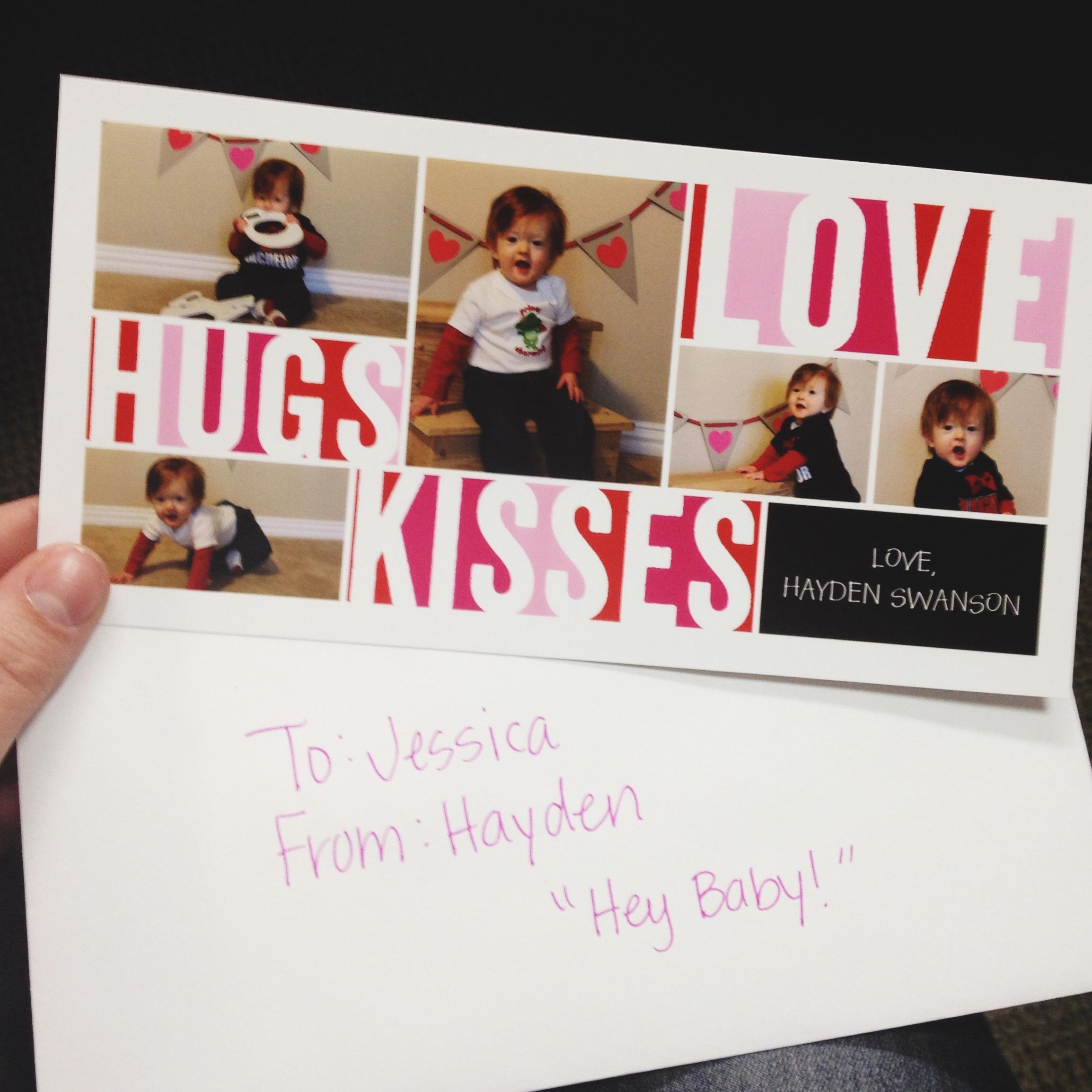 Hayden's Valentine