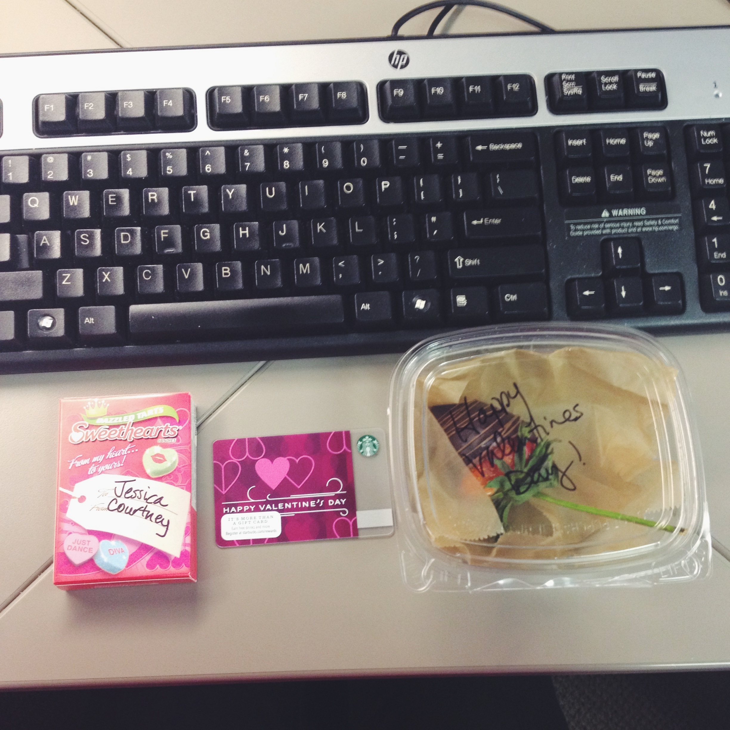 Vday Goodies from my Boss