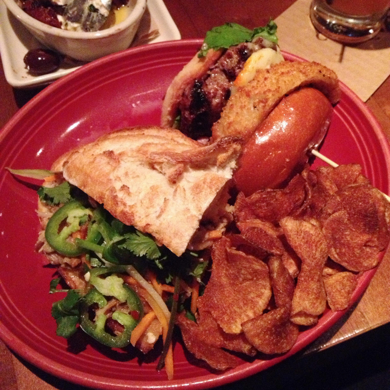 OMG Burger + BBQ Bahn Mi