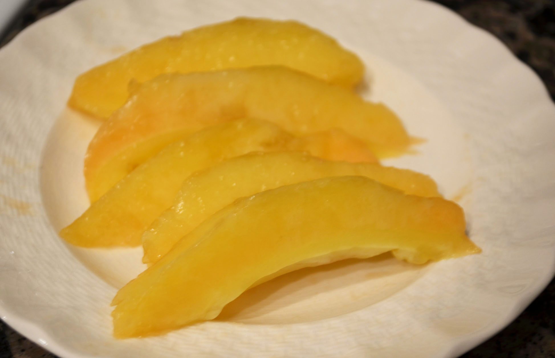 Sliced Pepino Melon