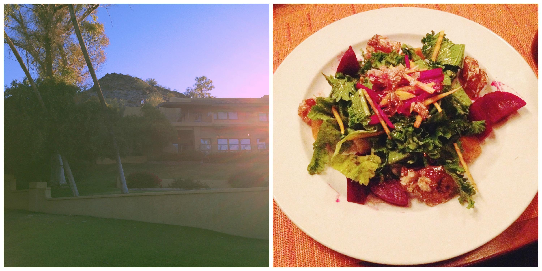 Beet Salad + The Hotel