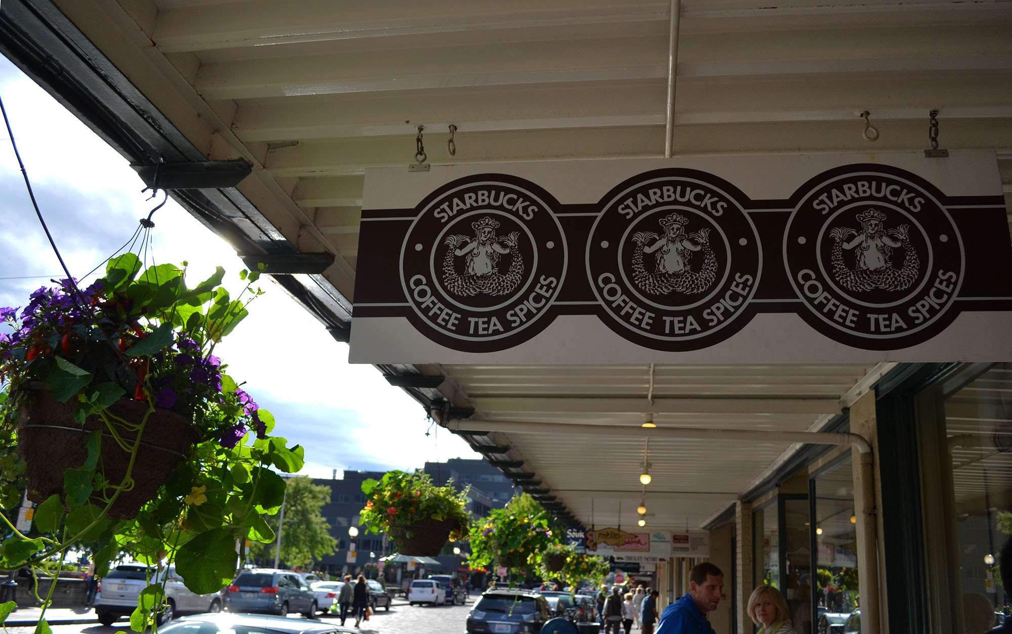 The First Starbucks