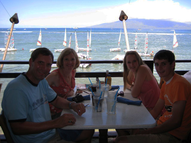 Lunch at Lahaina Fish Co.