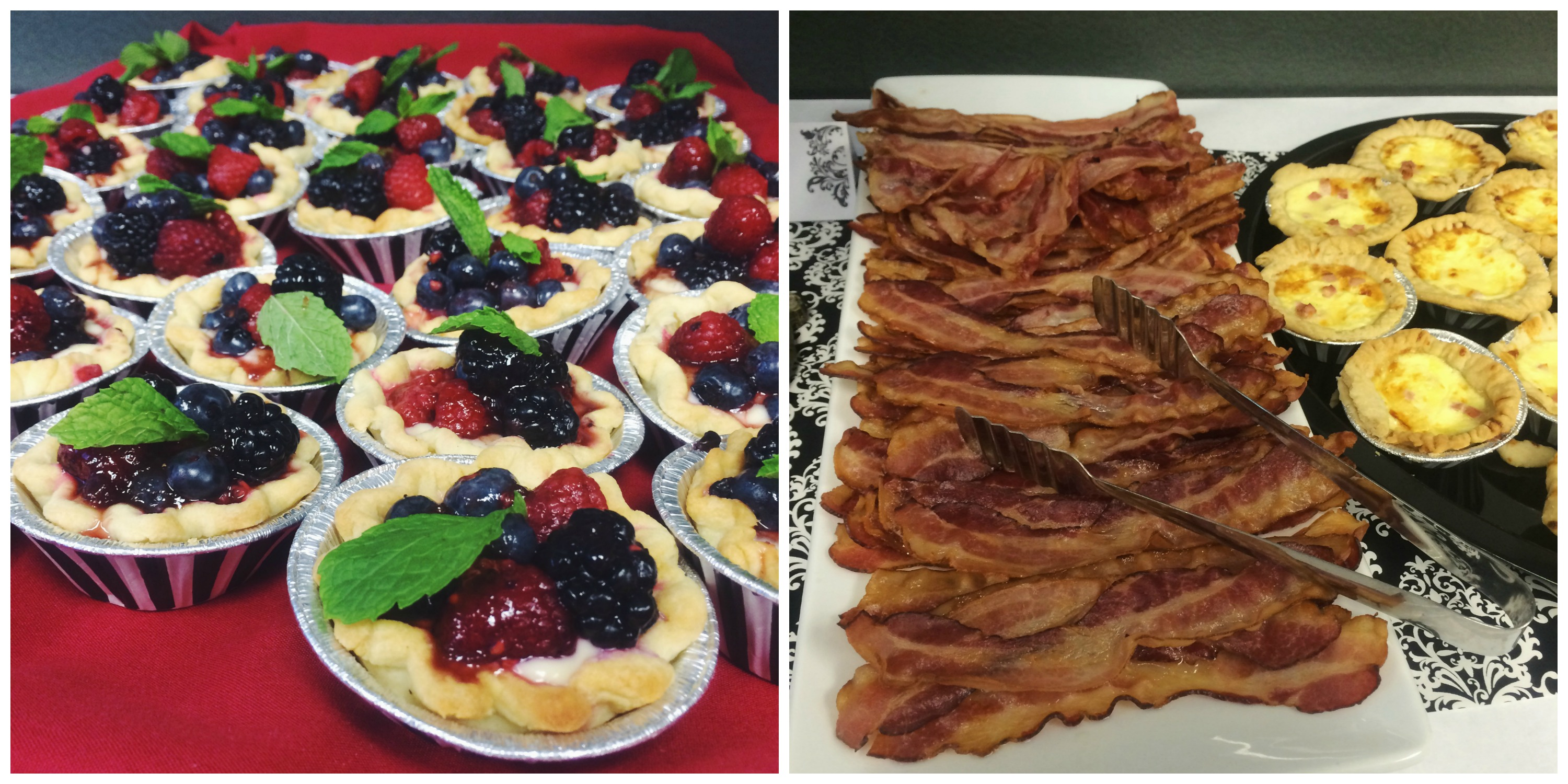 Tarts + Bacon