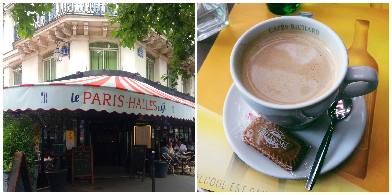 Our First Paris Cafe!