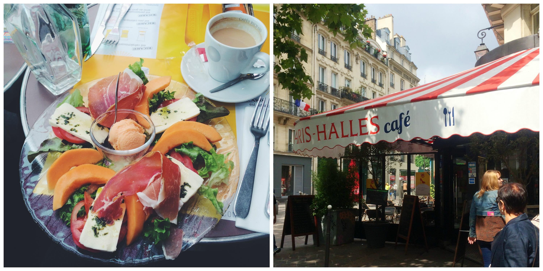Paris Halles Cafe
