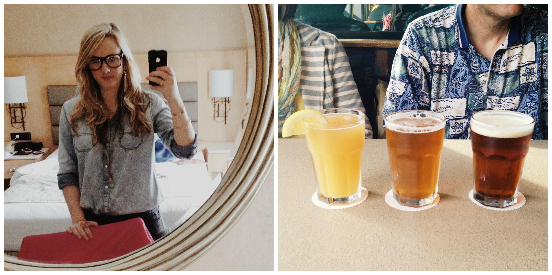 Ombre Beers + A Selfie