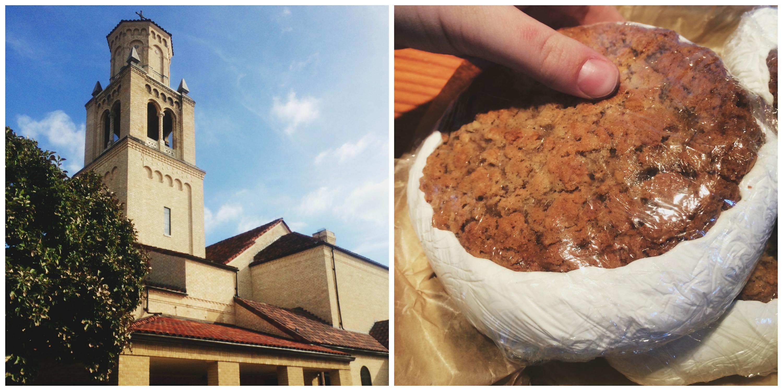 Church + Giant Whoopie Pie