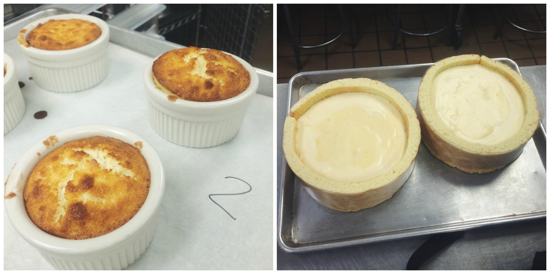 Lemon Pudding Cakes + Charlottes