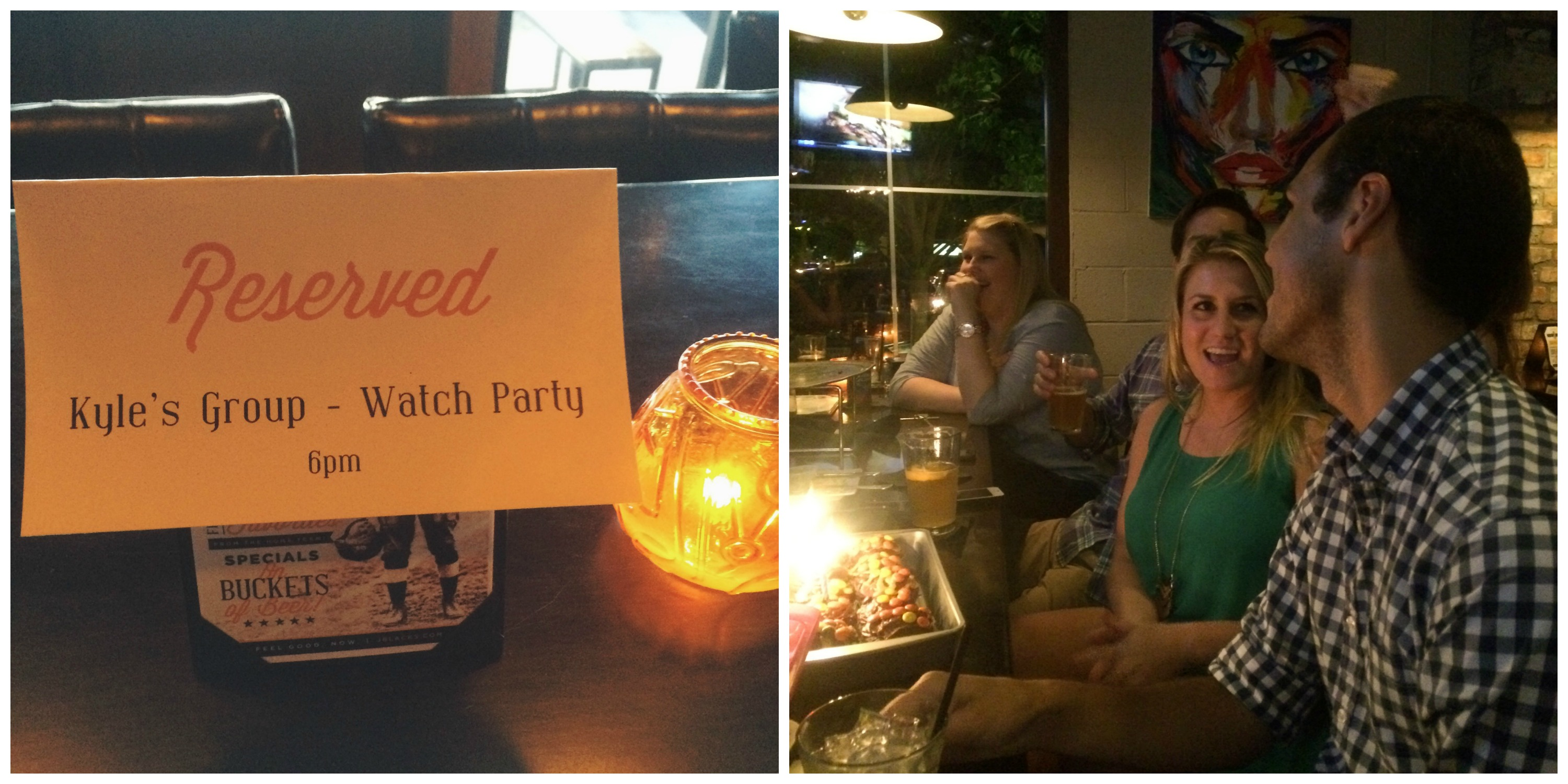 Reserved Watch Party for Kyle!