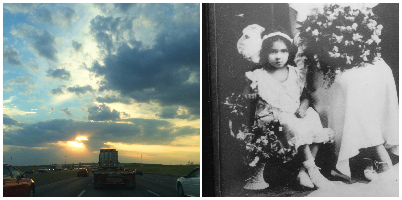 Sky + Old Photograph