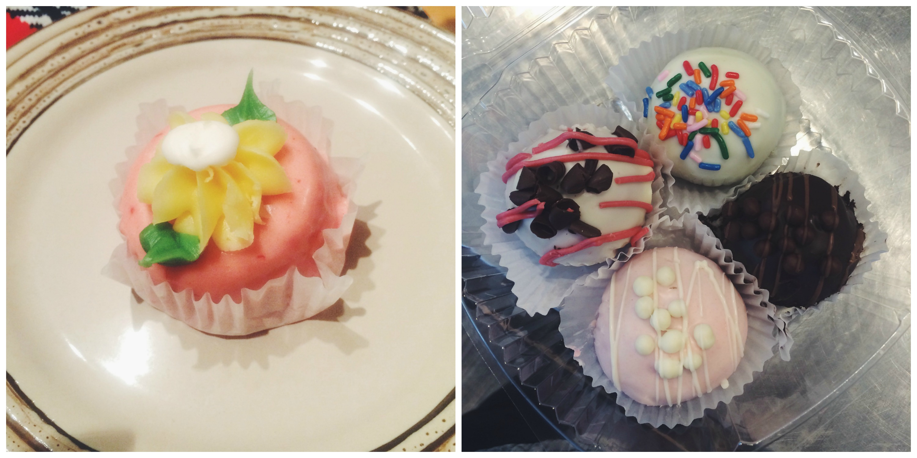 Petit Fours and Cake Balls