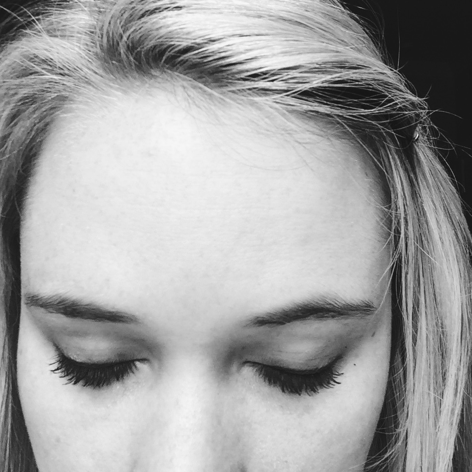 Smudged Eye Makeup