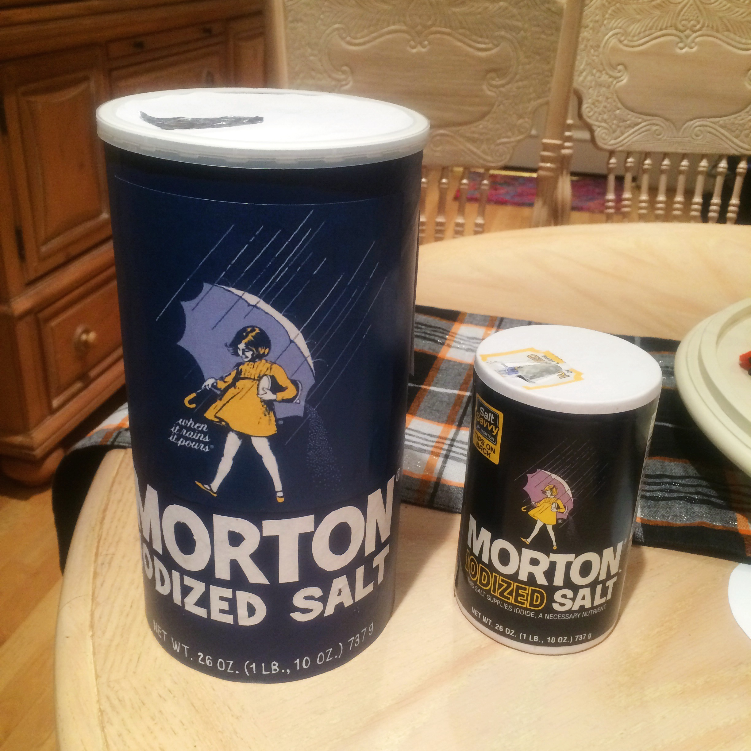 DIY Large Morton Salt Canister