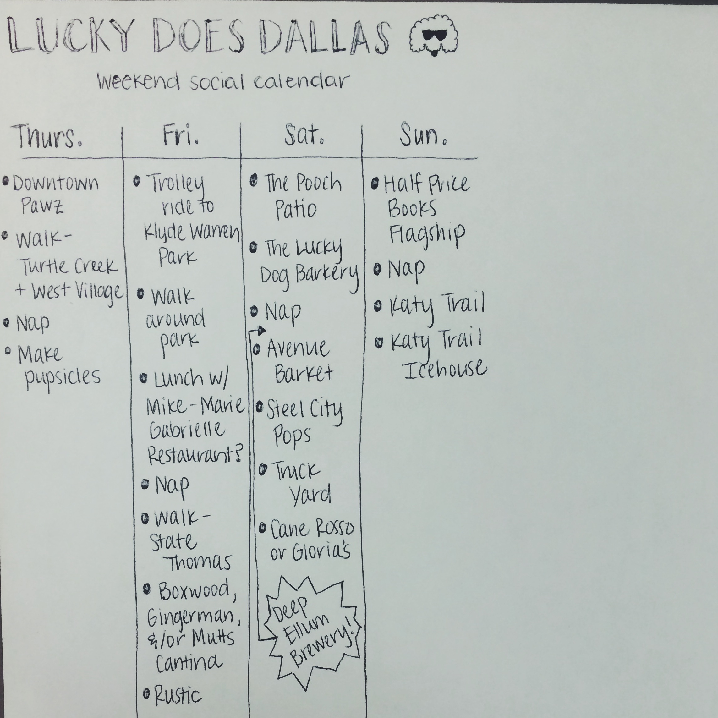Lucky Does Dallas