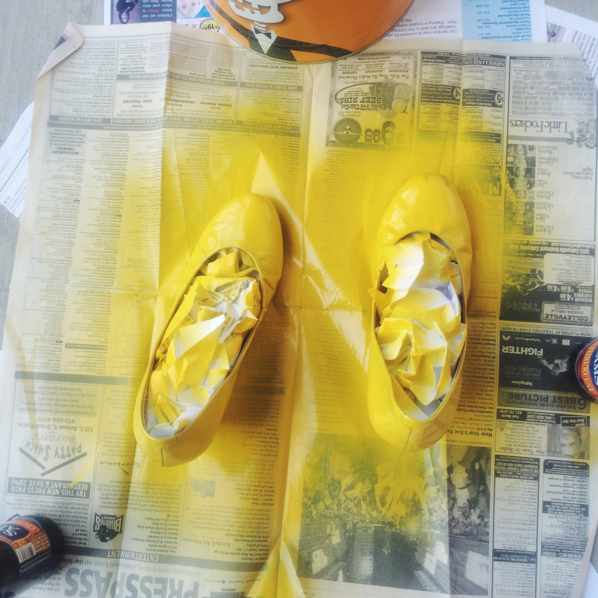 Spray Painted Shoes!