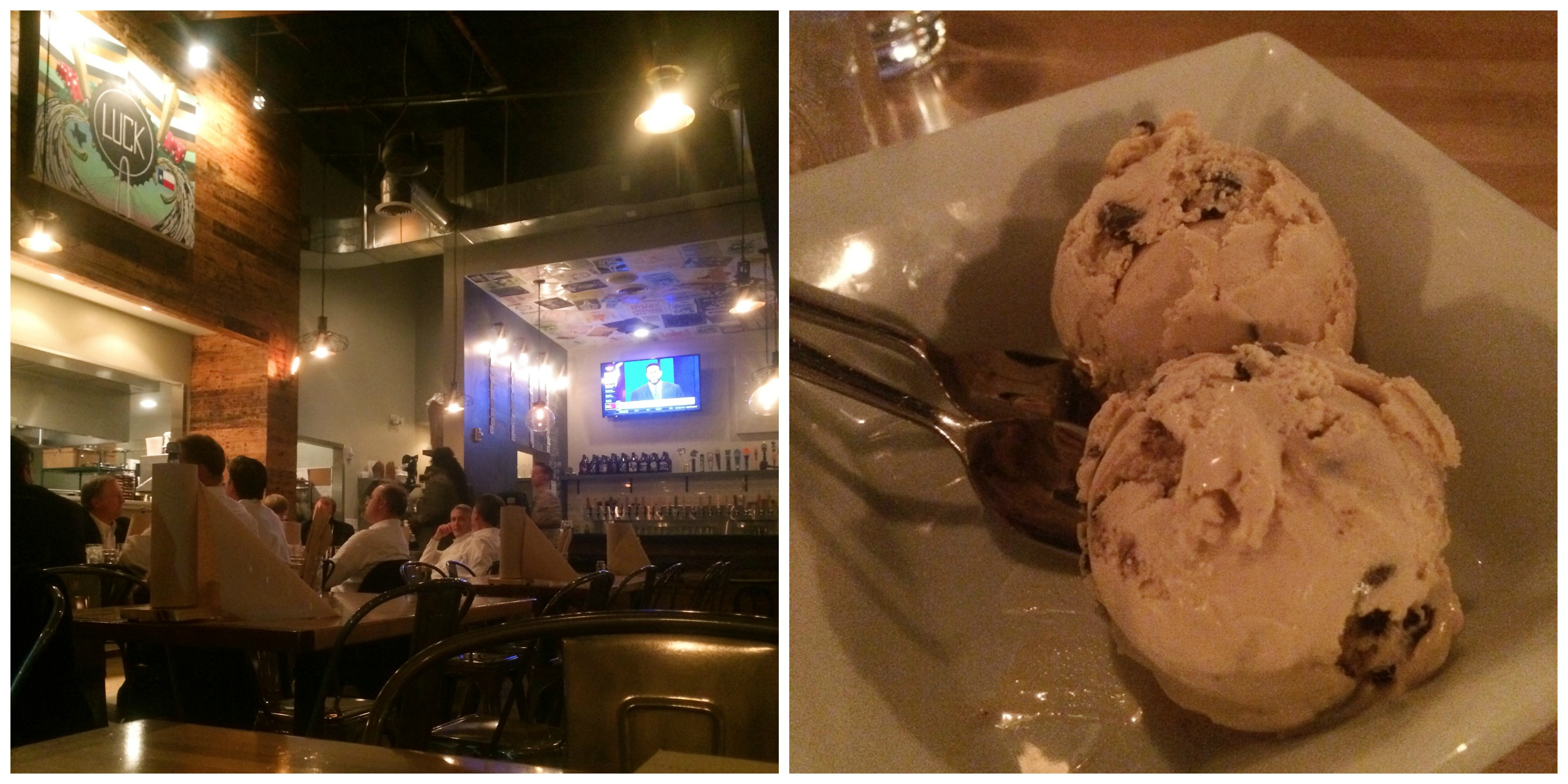 Beer Ice Cream at Luck