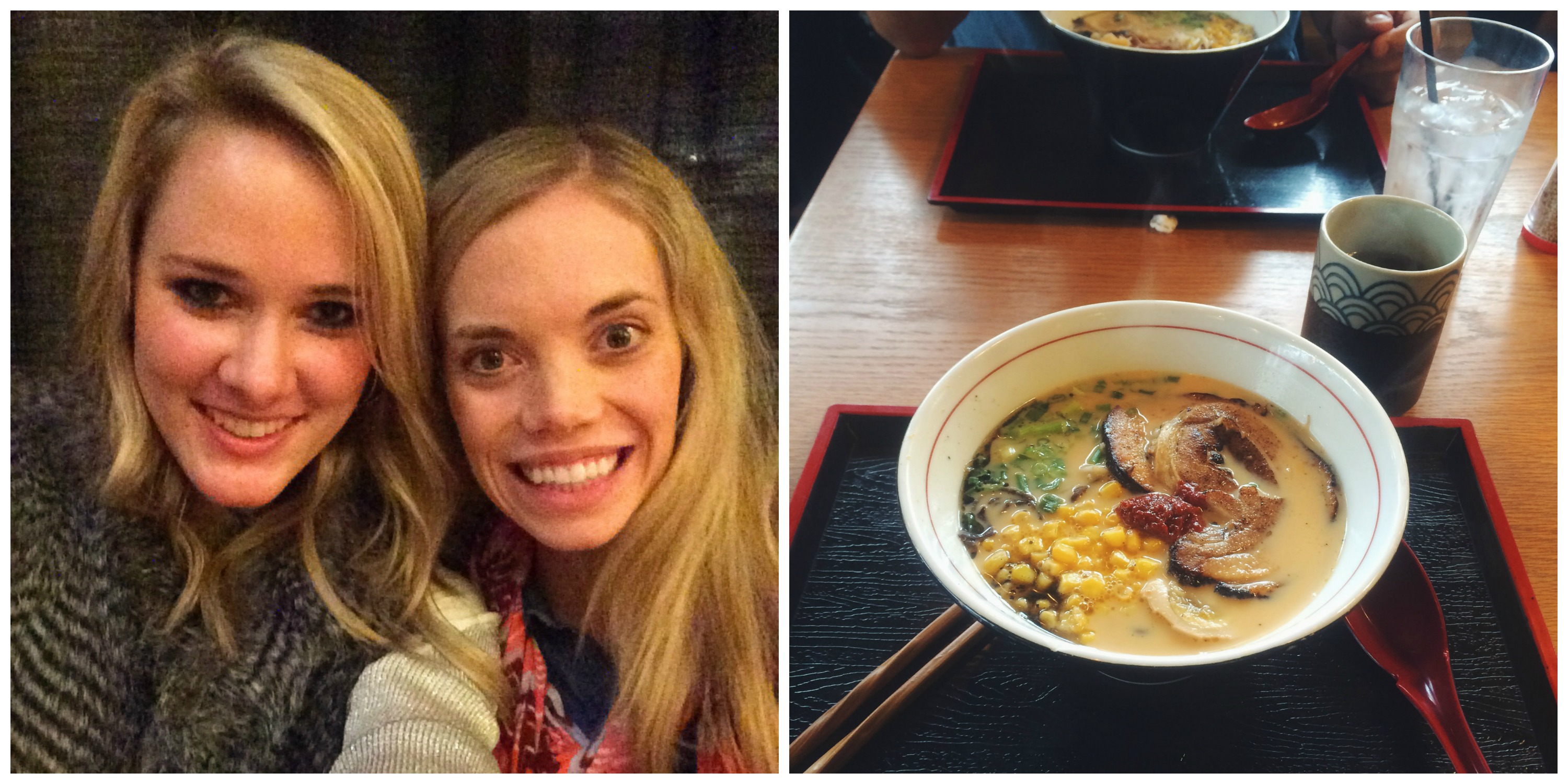 Work Christmas Party + Ramen Date