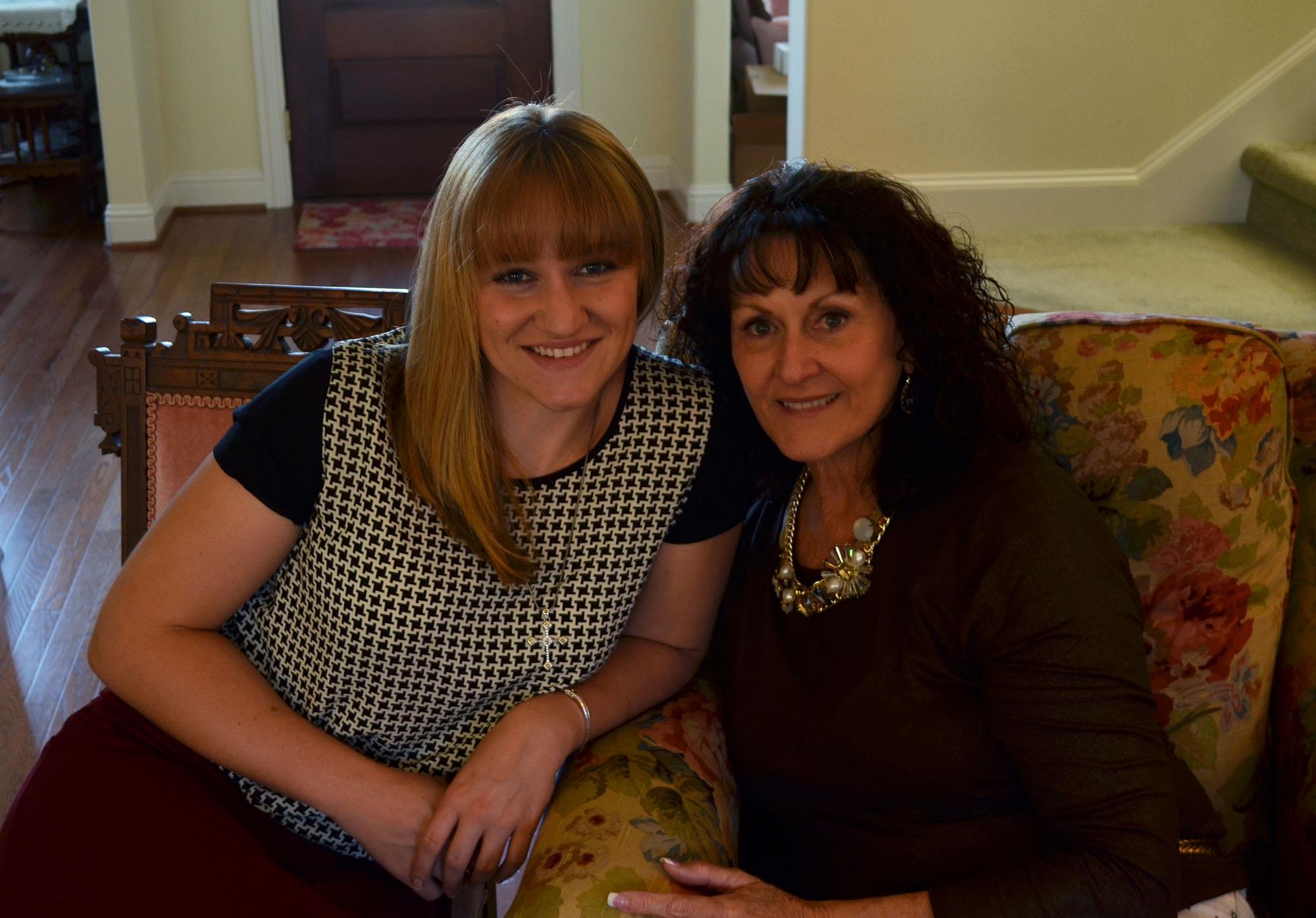 Ashlin and Aunt Debbie
