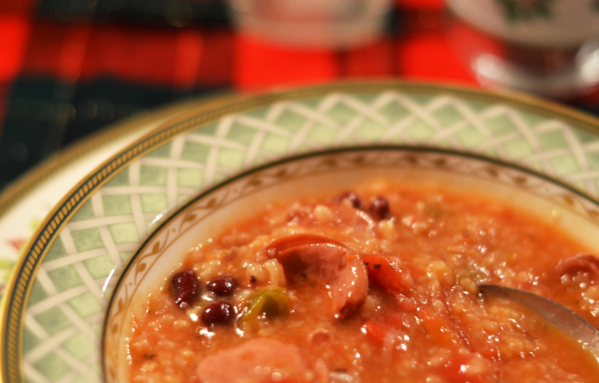 Sausage & Barley Soup