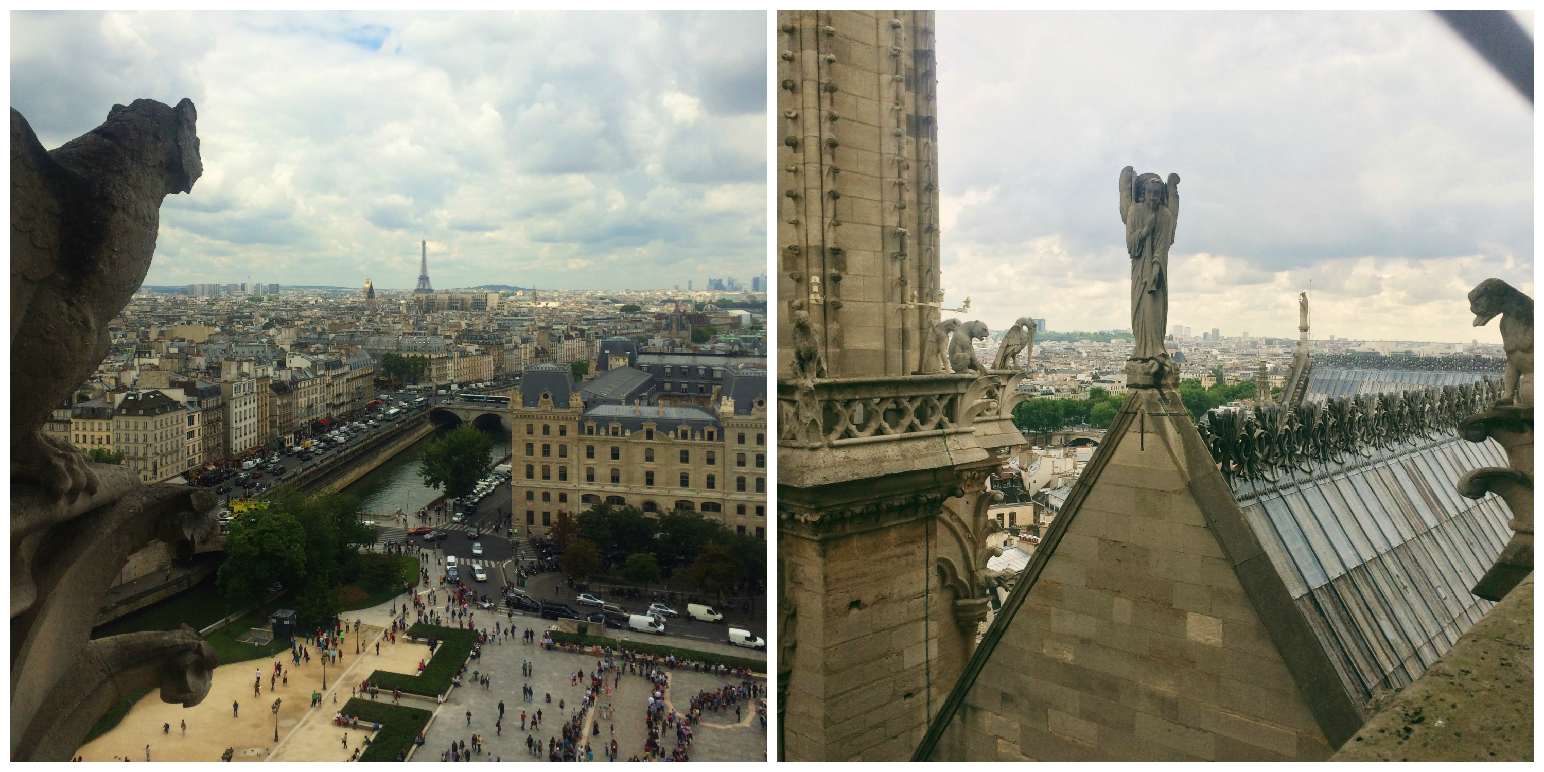At the Top of Notre Dame