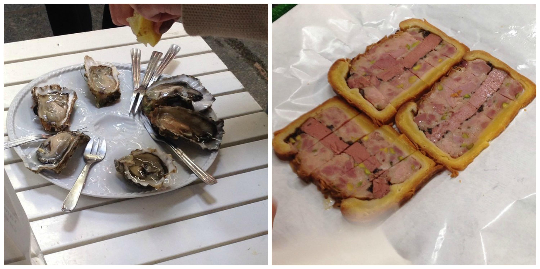 Oysters + Pâté