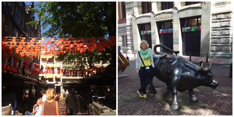 Cafe Mokum & The Charging Bull