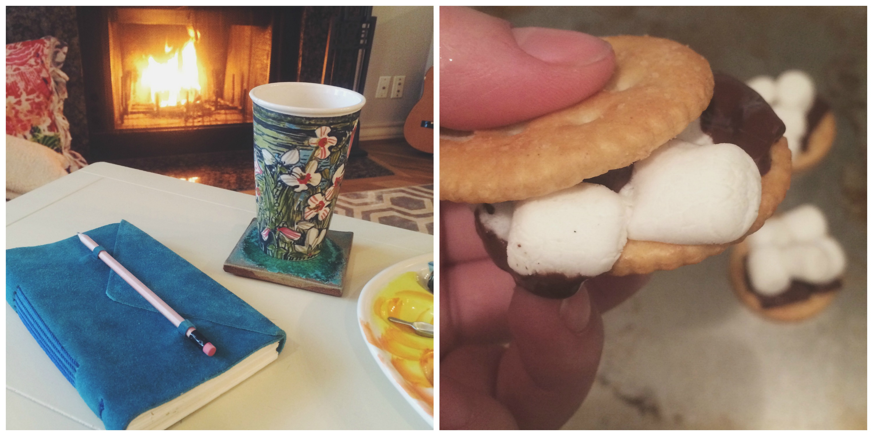 Fires, Sketching, & S'mores
