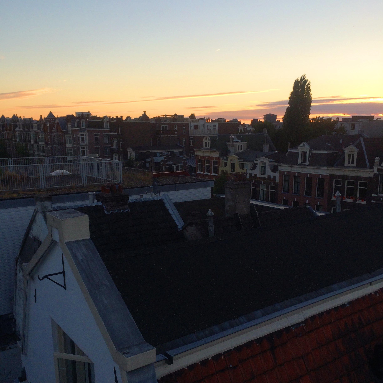 Sunset Over Amsterdam