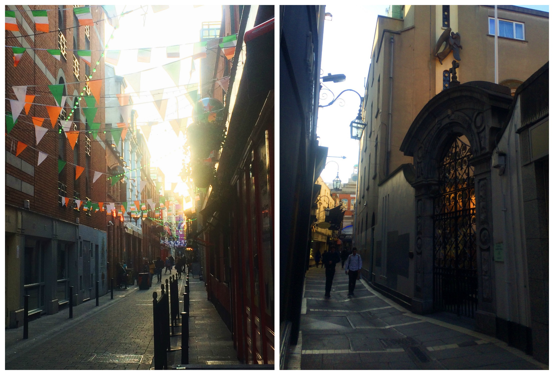 Irish Flags & Alleyways