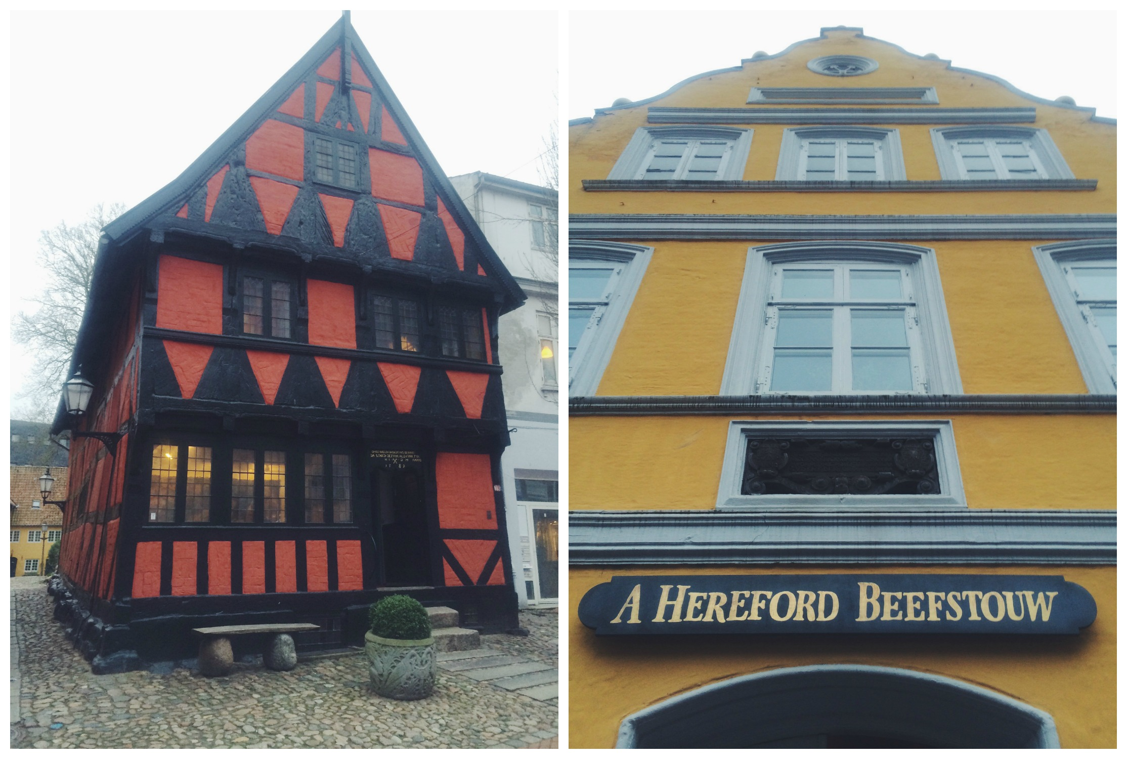 The Two Oldest Buildings in Town