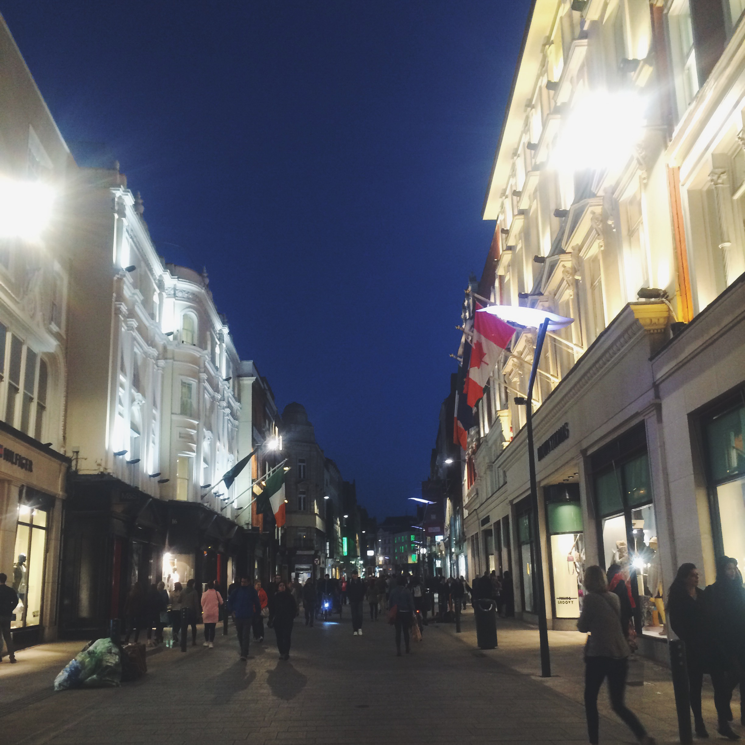 Grafton Street at Night