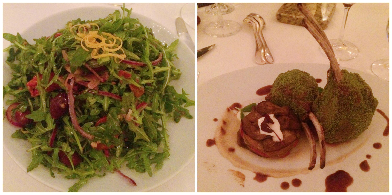 Arugula Salad + Lamb